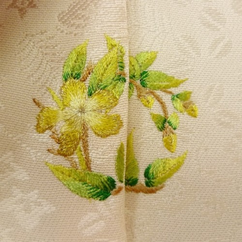 刺繍オリジナル加賀紋の製作事例