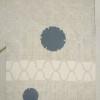 白大島紬のしみを特殊加工でお直ししました