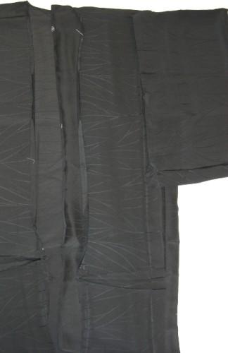 リメイクの素材:無地の着物