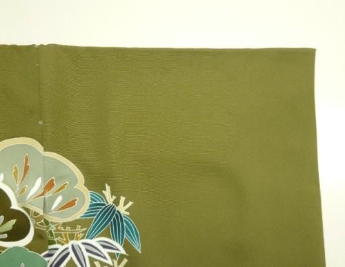 祝着の袖、刷り込み紋位置に小さな印